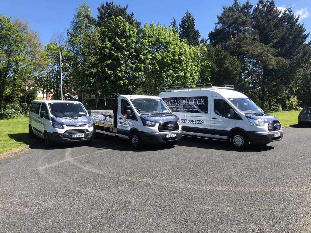 DS Construction Services Fleet